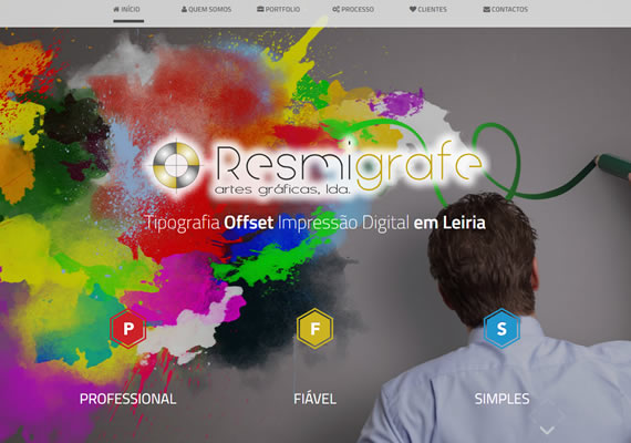 Website development <a href='http://www.resmigrafe.pt' target='_blank'>http://www.resmigrafe.pt</a>